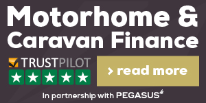 Motorhome & Caravan Finance in partnership with Pegasus