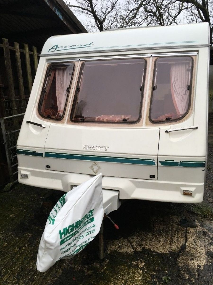 Image of Swift Accord 490 lux 5 berth touring caravan