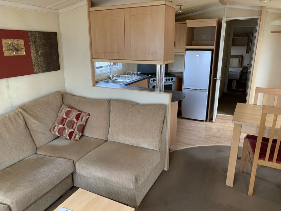 Photo of Static caravan in Lancaster 12 month park cheap site fees