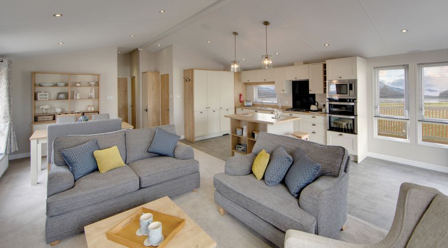 Image of Luxury Willerby Pinehurst Lodge For Sale @ Romney Sands Holiday Park