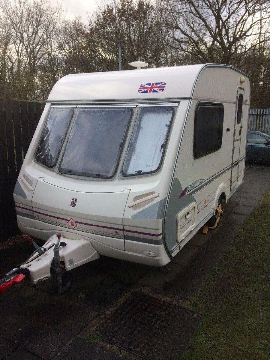 Image of Abbey vogue touring caravan two birth