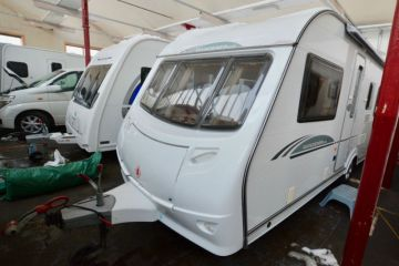 Photo of 2009 Coachman Wanderer 18 4 Berth Touring Caravan with Fixed Bed