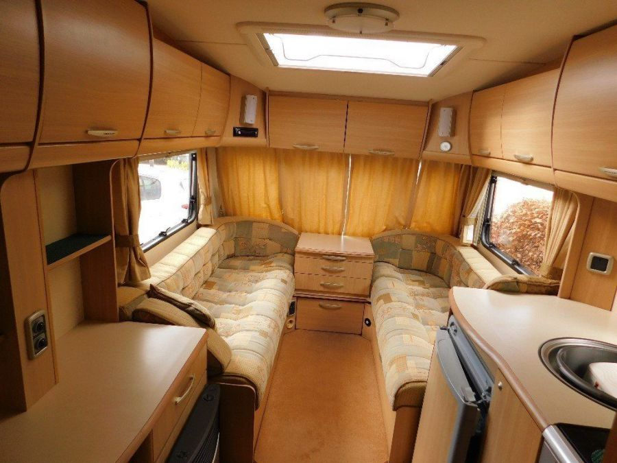 Image of touring caravan