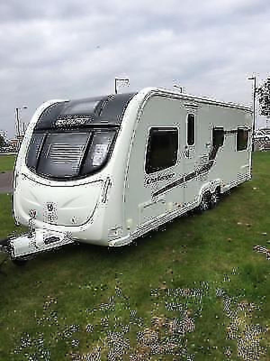 Image of 2013 SWIFT CHALLENGER 625 *FIXED BED* 6 BERTH TWIN AXLE TOURING CARAVAN