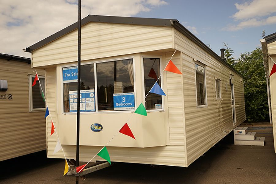 Image of CHEAP STATIC CARAVAN FOR SALE - BY THE SEA, IN SKEGNESS