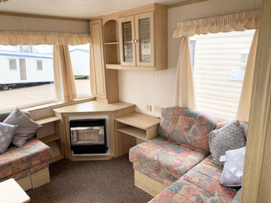 Photo of BK CONTESSA 37 X 12 3 BED ELECTRIC HEATERS & REAR STORAGE