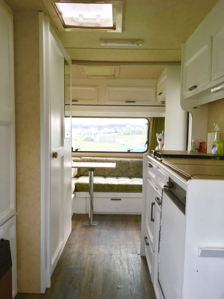 Photo of Well loved, shabby chic starter caravan with extras!