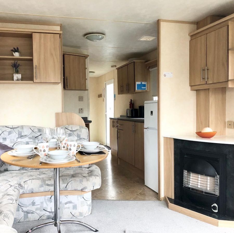 Image of 3 bed caravan