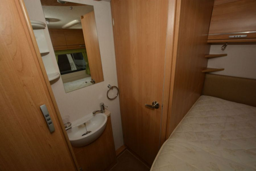 Image of 2011 Lunar Quasar 534 4 Berth Touring Caravan with Fixed Bed