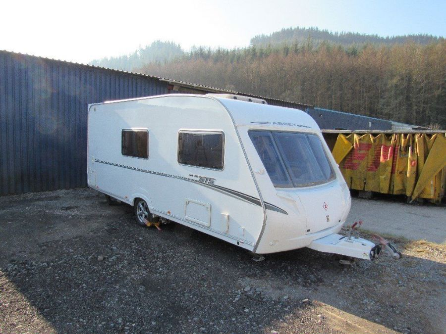 Image of Abbey GTS 416 2007 4 Berth End Bathroom Touring Caravan