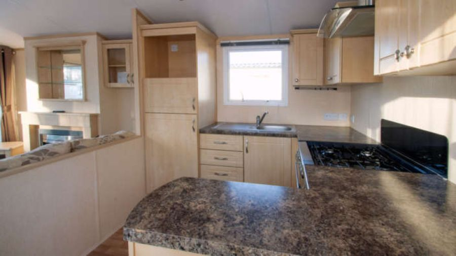 Image of * PRE-OWNED STATIC CARAVAN FOR SALE * DECKING INCLUDED * DORSET / NEW FOREST *