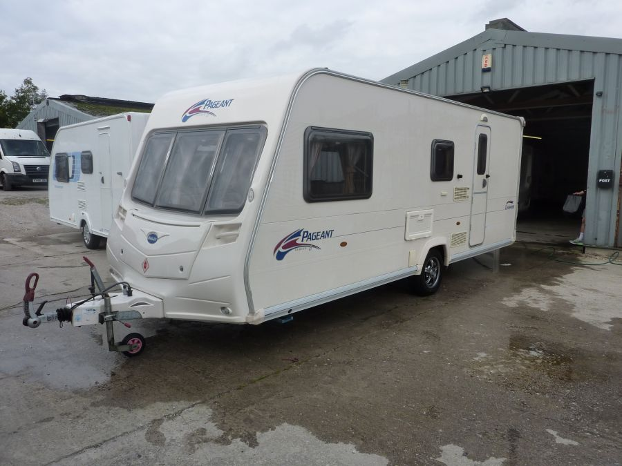 Image of Bailey Pageant Champagne Touring Caravan