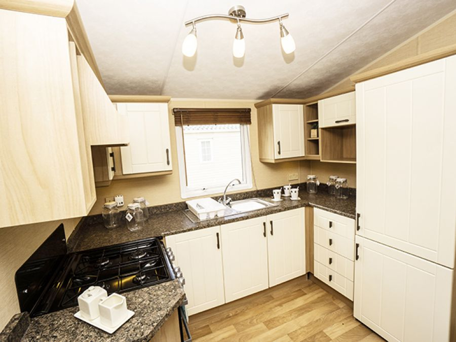 Image of BEAUTIFUL DISCOUNTED STATIC CARAVAN