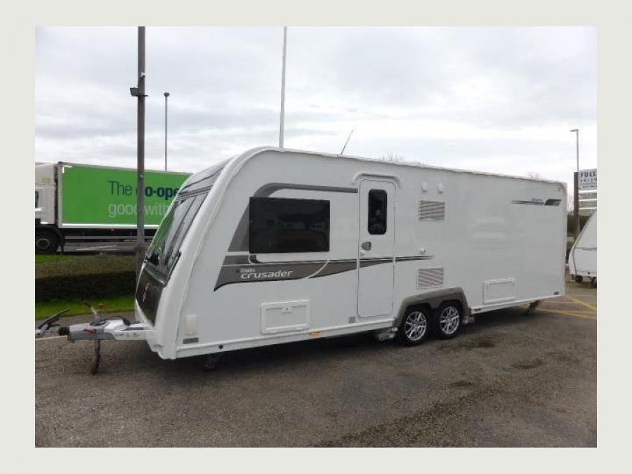 Image of Elddis CRUSADER STORM SIDE ISLAND FIXED BED