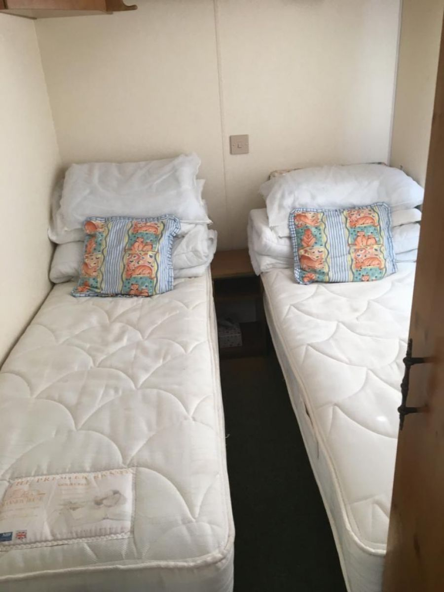 Image of STATIC CARAVAN COSALT RIMINI 35X12 3 BEDROOMS **GOOD CONDITION**