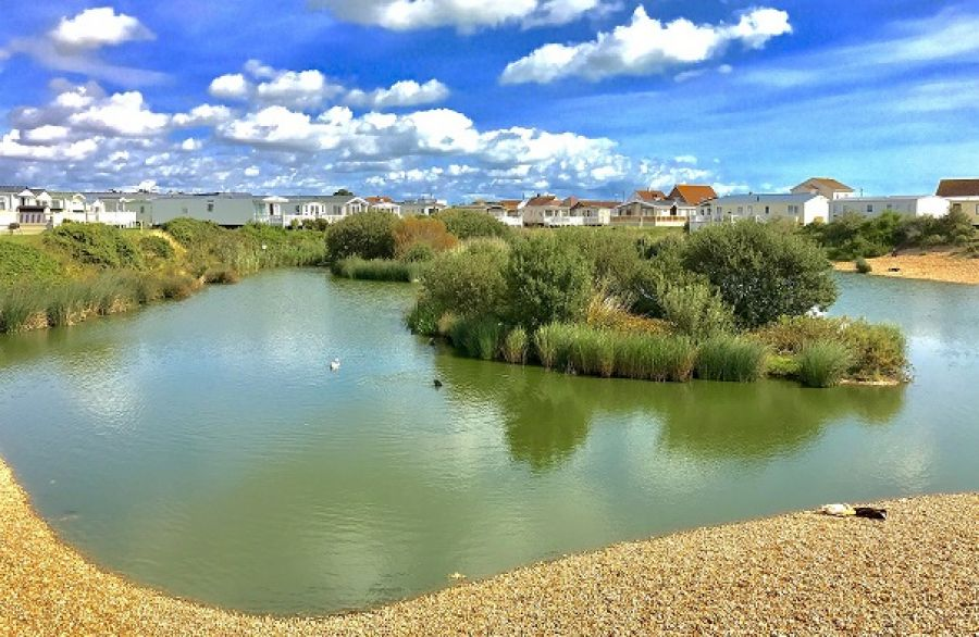Photo of Caravan For Sale Kent Beach Near Dungeness and East Sussex
