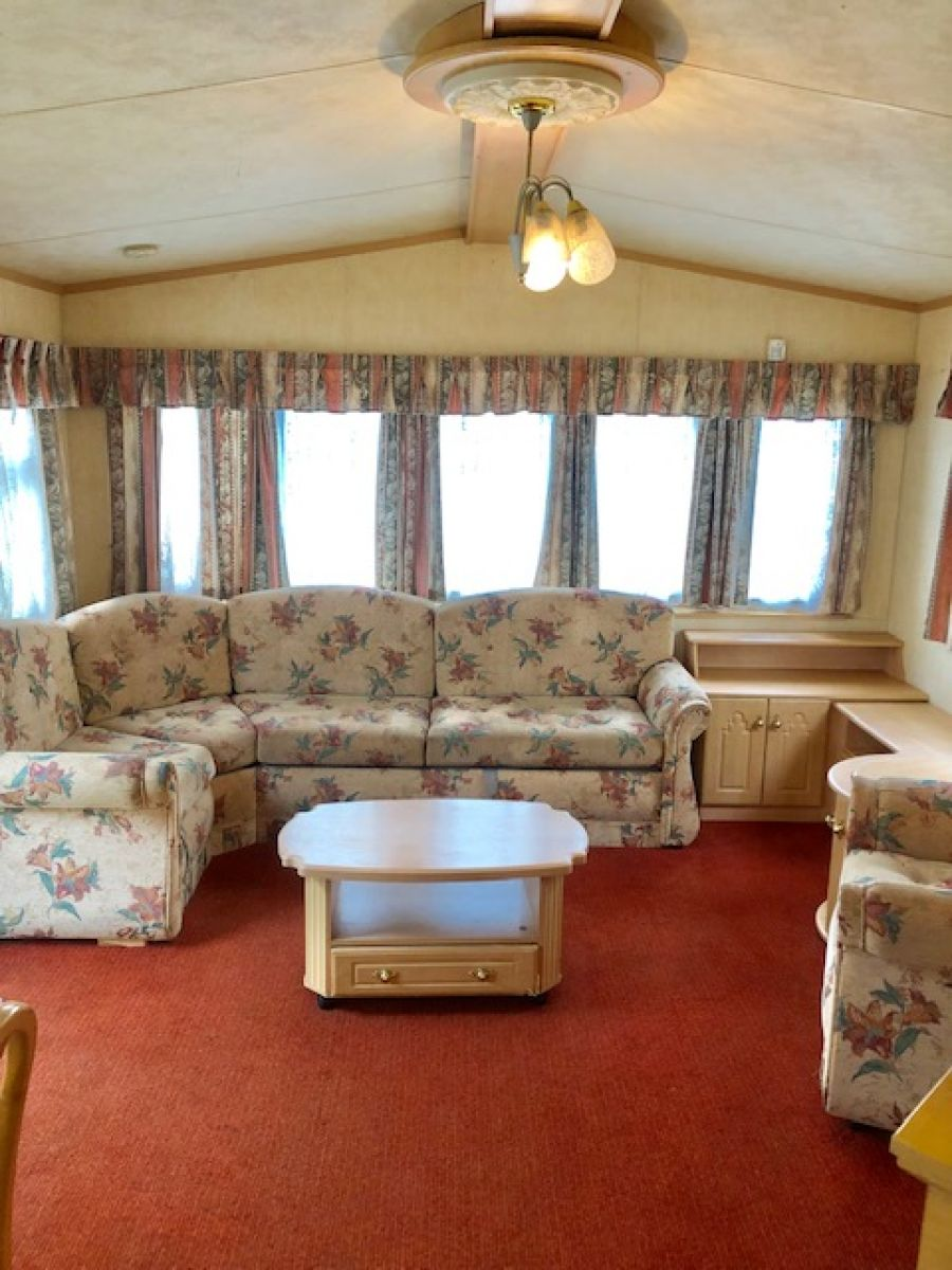 Image of STATIC CARAVAN WILLERBY LEVEN 32X12 2 BEDROOMS **D/GLAZED & ELEC HEATING **