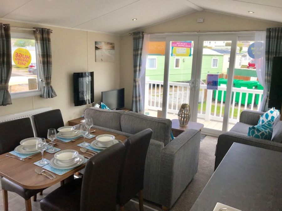 Image of 3 bed Static caravan holiday home for sale in South Devon