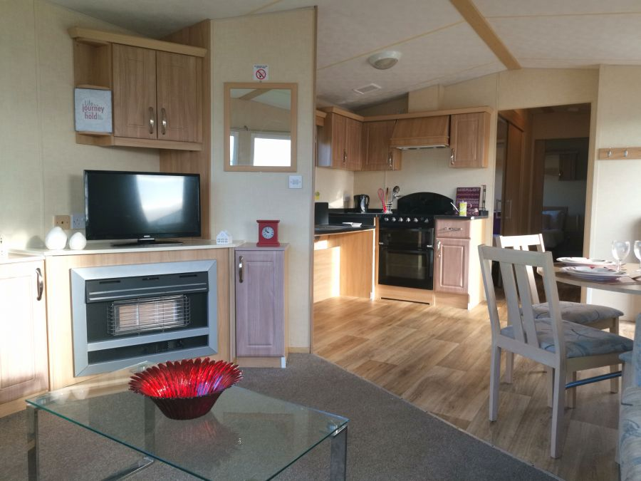 Image of Wheelchair Friendly 2 Bedrooms Double Glazed & Central Heated Sited Caravan, Onsite Facilities, North Norfolk