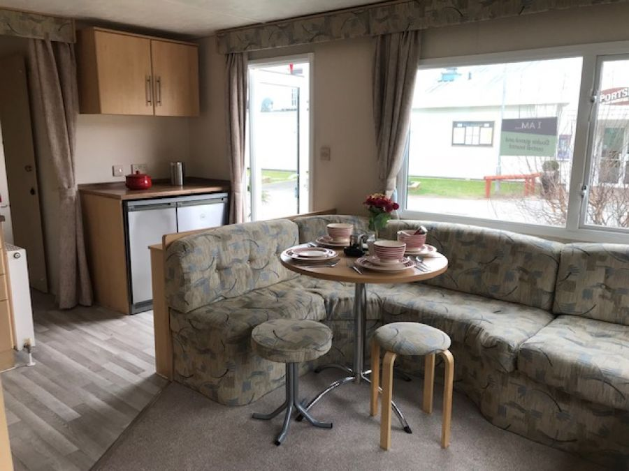 Image of cheap starter caravan for sale at trecco bay/porthcawl/southwales