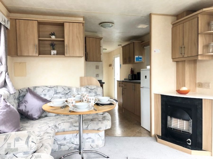 Image of 3 bedroom Sited Static Caravan in Clacton on Sea, Essex £2,700 per year Site Fees - 2020 fees inlcuded