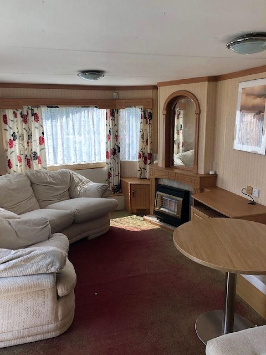 Image of REDUCED! !STATIC CARAVAN ATLAS MOONSTONE 35X10 3 BEDROOMS GOOD CONDITION