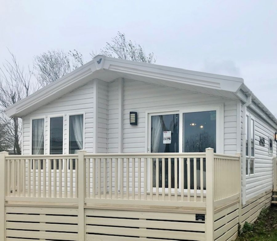 Image of NEW STATIC HOLIDAY LODGE IN CLACTON ON SEA - HIGHFIELD GRANGE 40x12