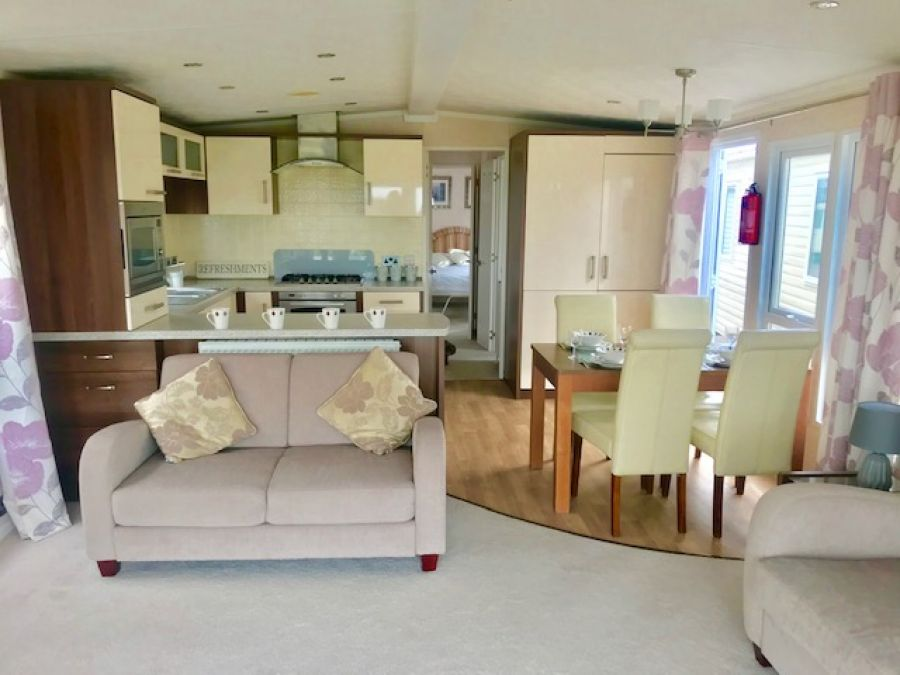 Image of For Sale Static Caravan Holiday Home Lowestoft Great Yarmouth Suffolk Norfolk