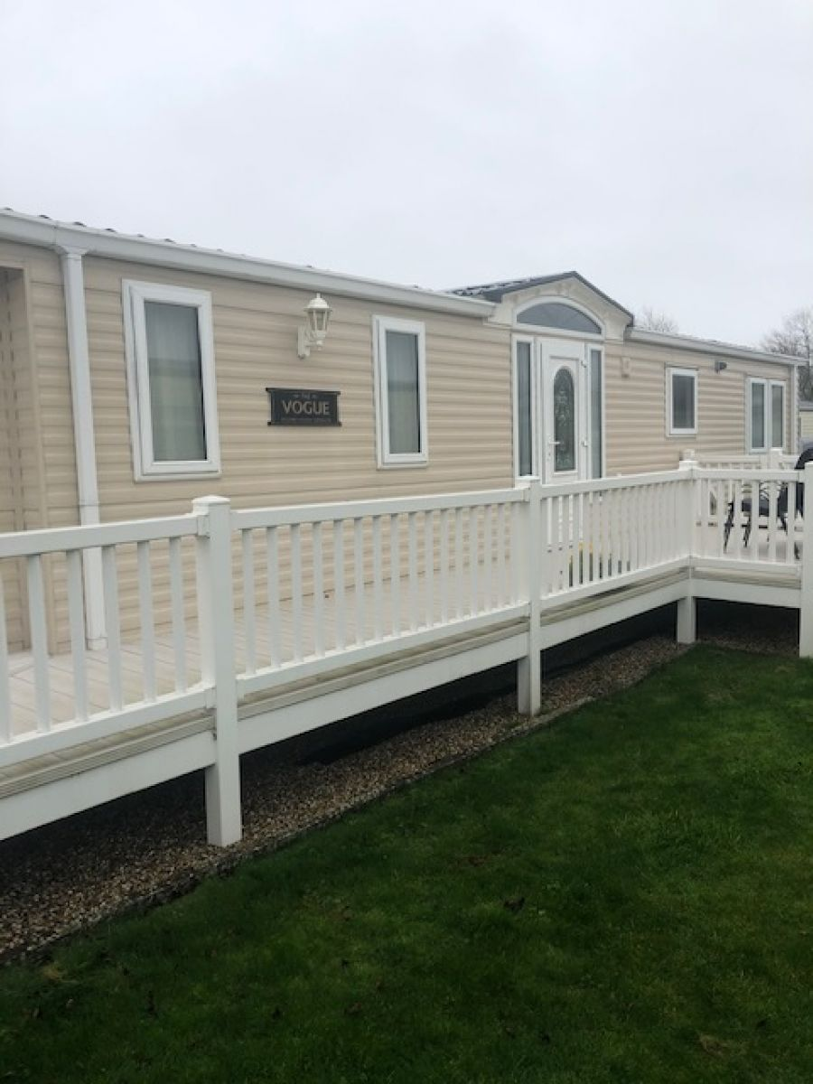 Image of OFFSITE WILLERBY VOGUE 38 X 13 3 BED D/GLAZED & C/HEATED **EN-SUITE**