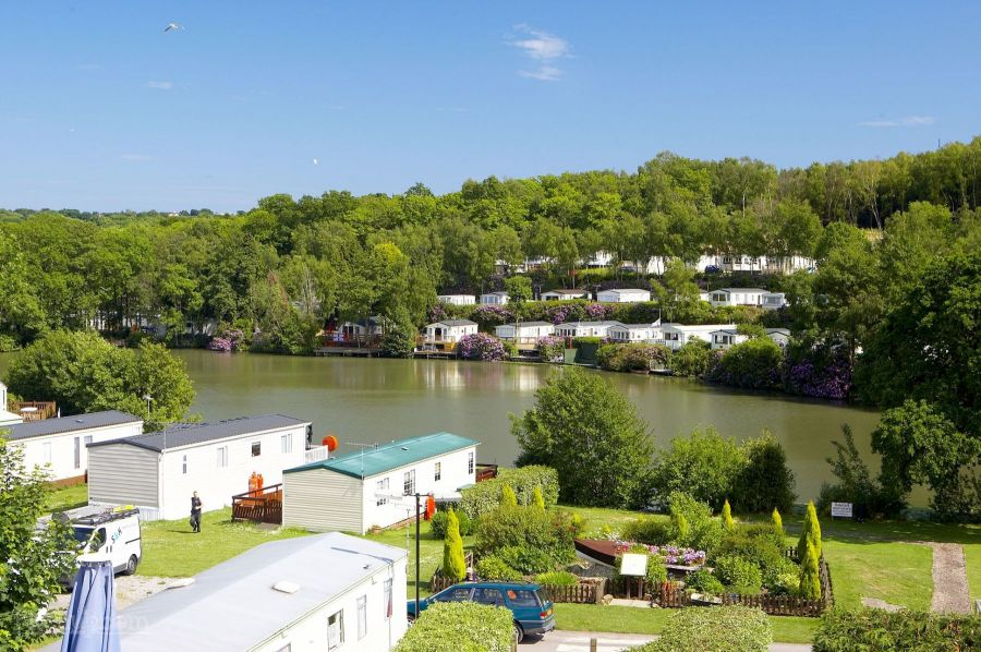 Image of STATIC CARAVAN SITED WITH DECKING-COGHURST HOLIDAY PARK-EAST SUSSEX COAST-HASTINGS-PET FRIENDLY-FISHING LAKE-FINANCE OPTIONS-FREE CREDIT CHECKS-07749981307
